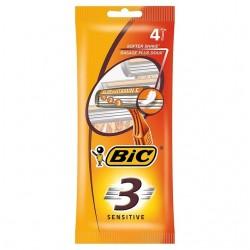 Bic 3 Sensitive Rasoio x4