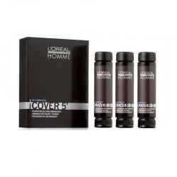 L'oreal Professionnel Homme Cover 5 - 4 - Castano 3 x 50 ml