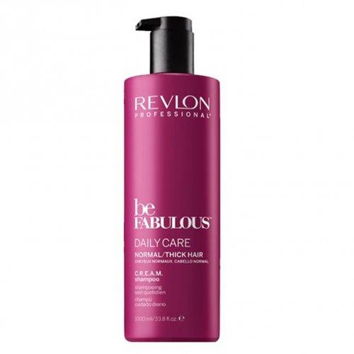 Revlon be Fabulous Daily Care Normal Hair Cream Shampoo 1000 ml