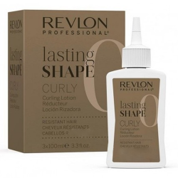 Revlon Lasting Shape Curly Resistant Hair 3 x 100 ml Numero 0