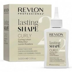 Revlon Lasting Shape Curly Sensitive Hair 3 x 100 ml Numero 2