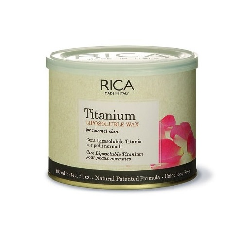 Rica Cera Liposolubile Titanio 400 ml