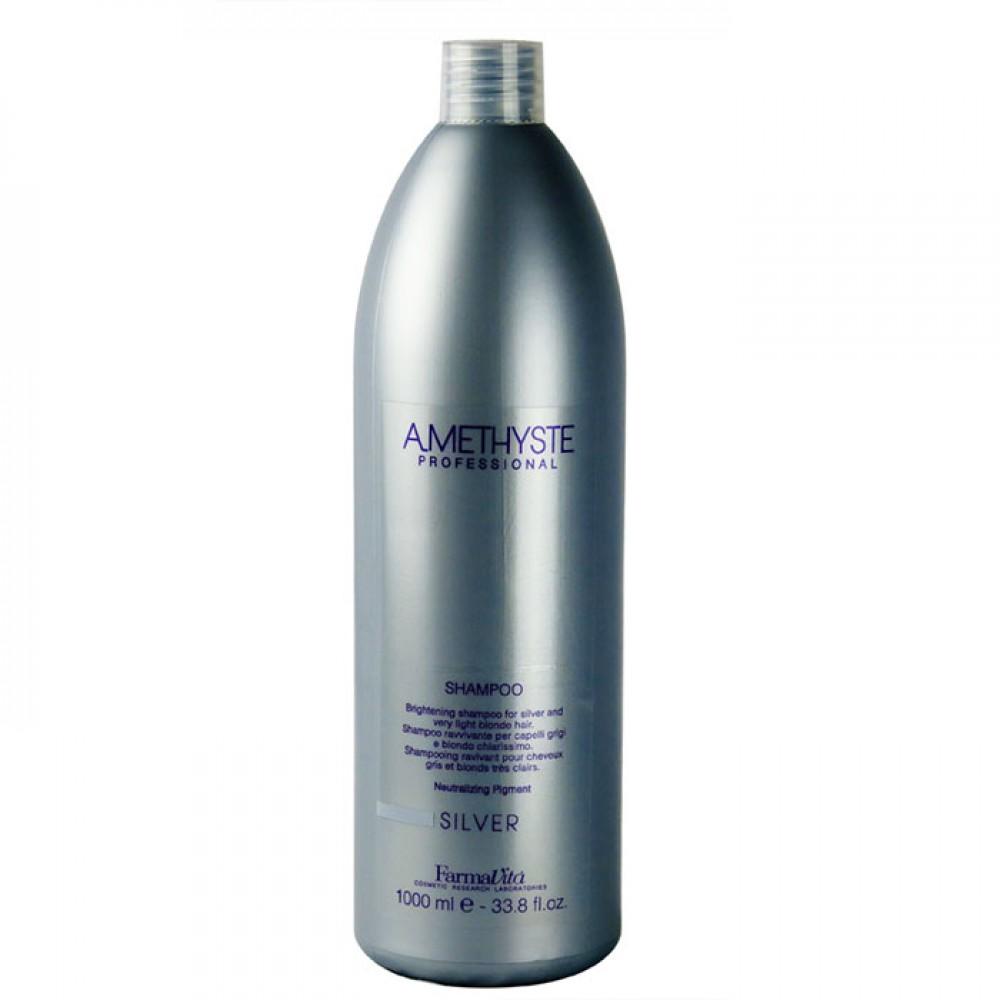 Farmavita Amethyste Silver Shampoo 1000 ml 8985a43dbd69