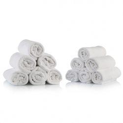 Asciugamano Spugna Bianco